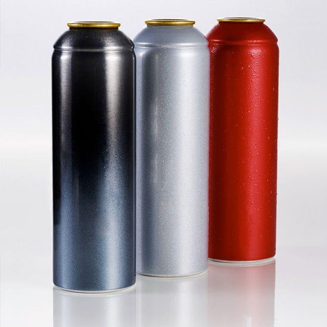 Produttore di bombole Aerosol in Alluminio